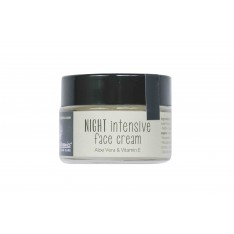 ORGANIC NIGHT INTENSIVE FACE CREAM - ALOE VERA & HONEY